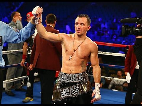Į bokso profesionalų ringą grįžęs Egidijus Kavaliauskas nuskynė dar vieną pergalę