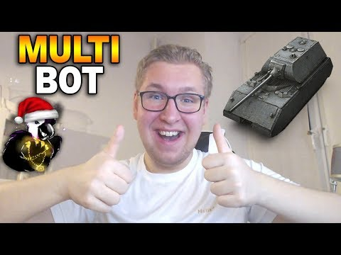 ZAGRAŁEM JAK BOT - Początki w nowym klanie - World of Tanks