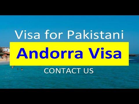 Andorra Visa for Pakistani l Contact us