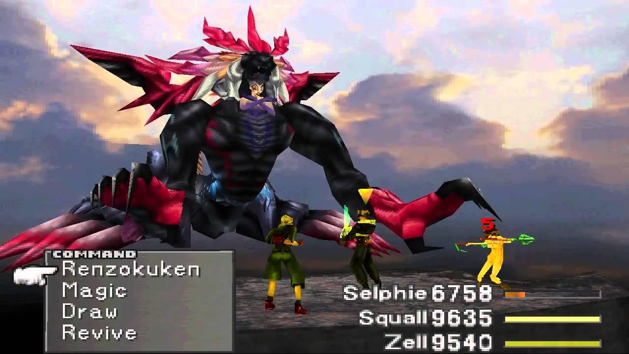 Image result for Final Fantasy VIII