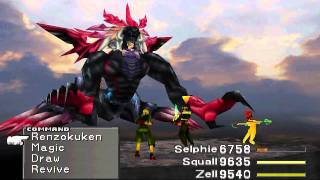 Final Fantasy 8 [HD] FINAL BOSS: Ultimecia