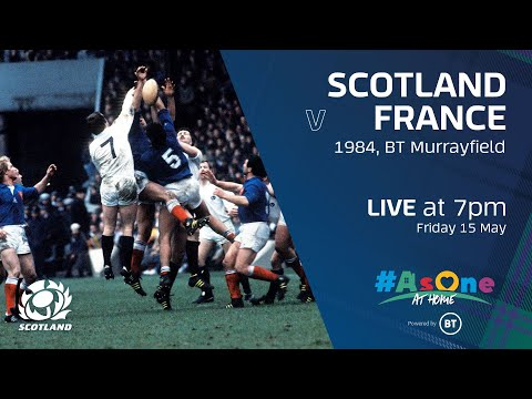 FULL MATCH REPLAY | Scotland V France | 1984