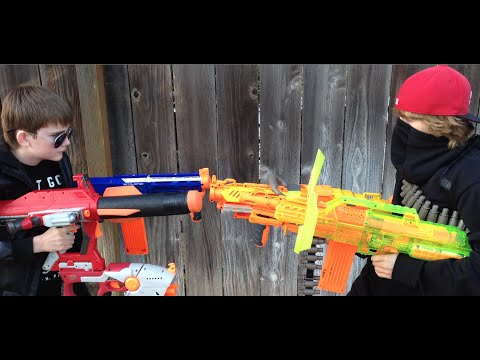 Thumbnail: Awesome Nerf War Part 2