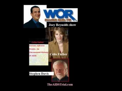 Joey Reynolds HIV-AIDS talk-show with Celia Farber and Stephen Davis