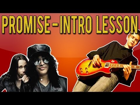 Slash - Promise Intro Guitar Lesson (With Tabs)