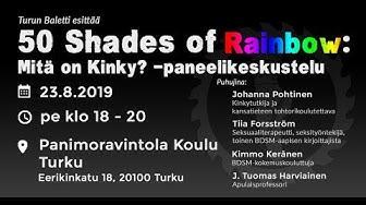 Turun Baletti: 50 Shades of Rainbow -paneelikeskustelu