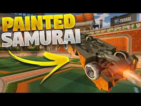 All Painted &#;SAMURAI&#; Cars On Rocket League (Triumph Crate Showcase)