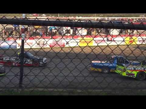 NASCAR Eldora Dirt Derby Truck Race Heat #2.