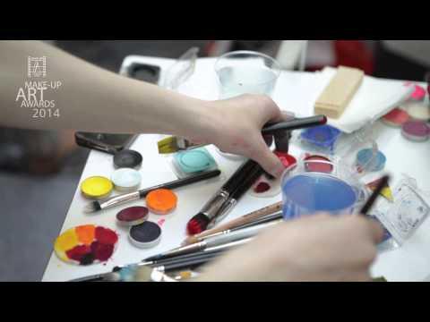 Финал номинации Боди-арт. Make-Up Art Awards 2014
