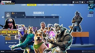 CDNThe3rd Reacts to Fortnite Season 6 BATTLEPASS and Buys Everything