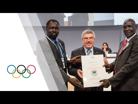 South Sudan NOC granted full recognition at 128th IOC Session