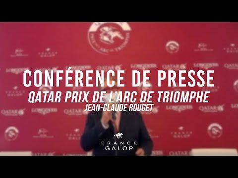 Conférence de presse : Qatar Prix de l'Arc de Triomphe : Jean Claude Rouget