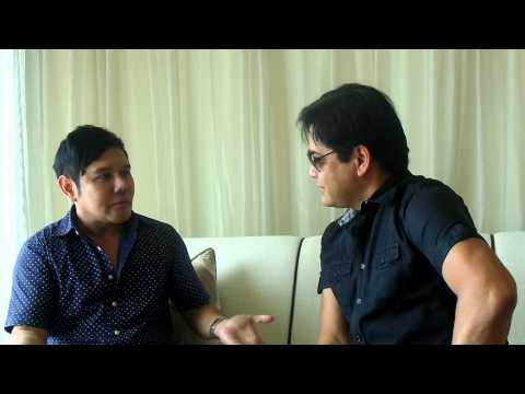 martin nievera interview for 3D live in singapore ( part one )