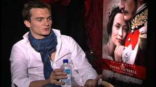 Rupert Friend Interview about The Young Victoria