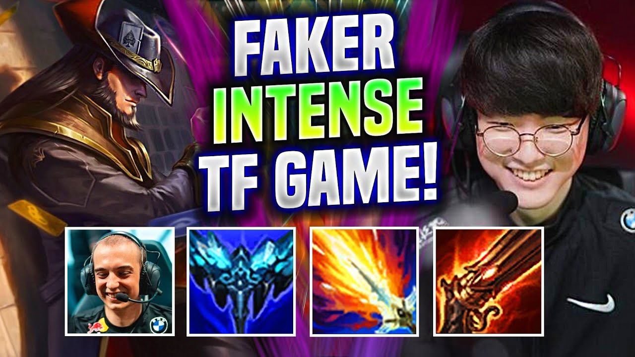 FAKER AGAINST CAPS REMATCH! - T1 Faker Plays Twisted Fate Mid vs Ryze!   Worlds Bootcamp EUW