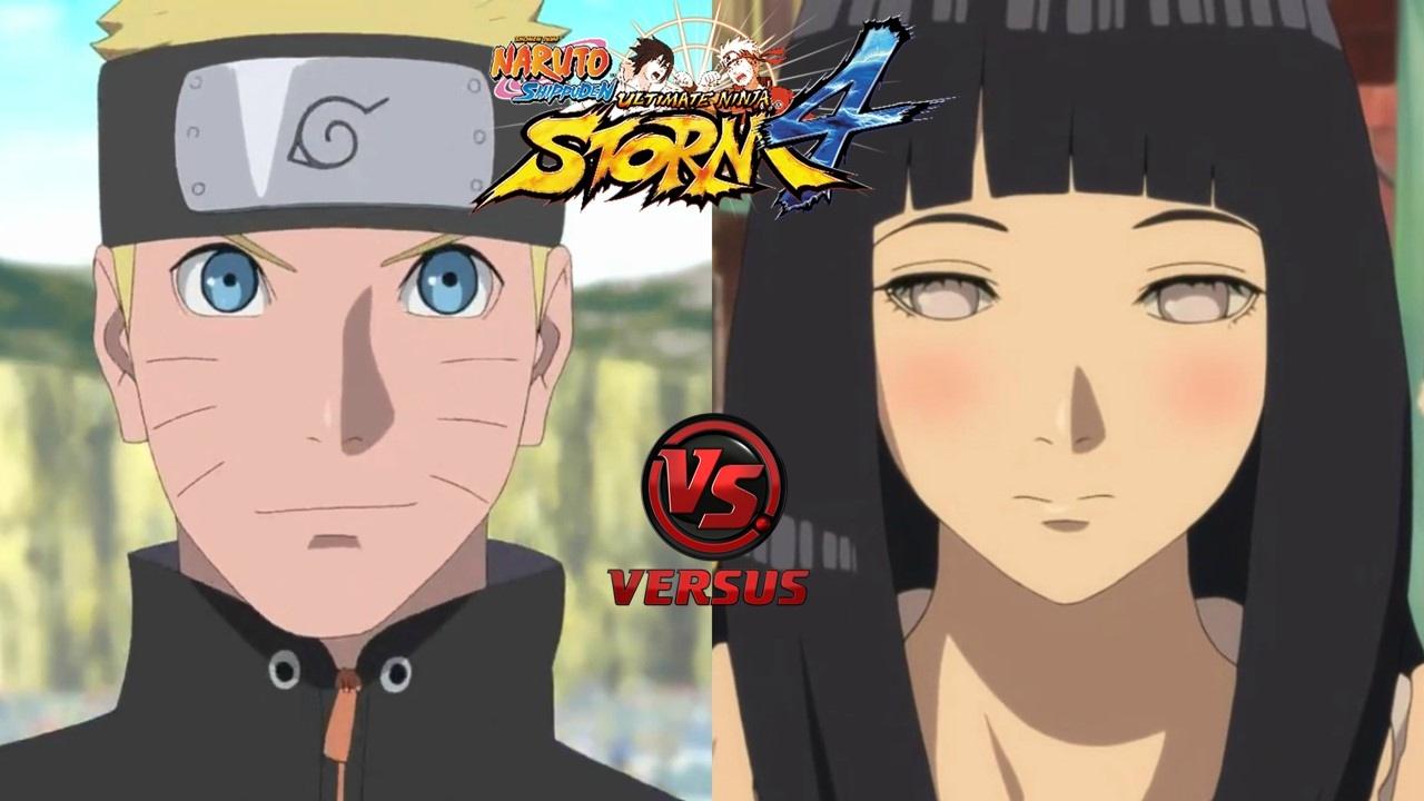 Naruto Uzumaki The Last Vs Hinata Hyuga The Last Nsuns4 Road To Boruto Latino