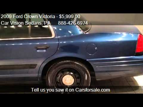 2009 Ford Crown Victoria Police Interceptor - for sale in No