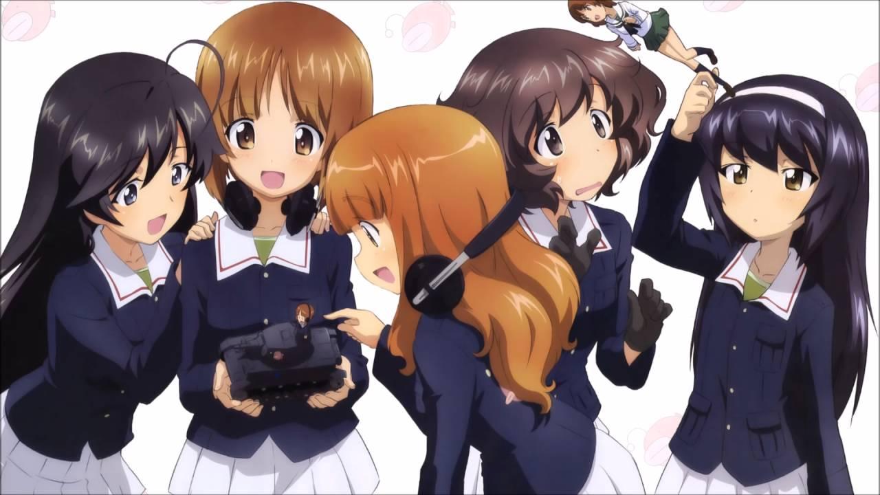 Girls Und Panzer ガールズ パンツァー Op Full Dreamriser Youtube