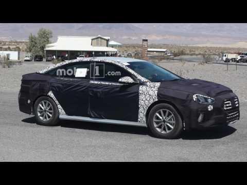 2017-2018 Hyundai Sonata Facelift  ~ Price, Specs, Release date