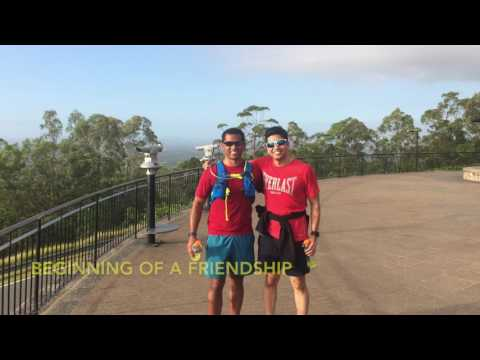 Niaz's Brisbane Running Adventure - Nov 2016
