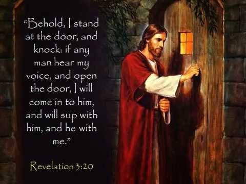 Rapture Quot Open The Door To Your Heart Amp Let Jesus Come In