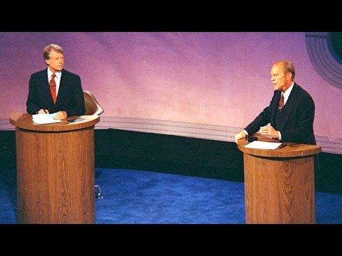 Dickersons debate history: Carter vs. Ford in 1976