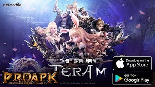 TERA M Gameplay Android / iOS (Open World MMORPG) (KR)