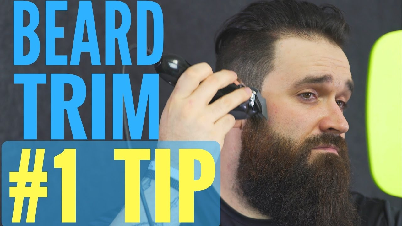Best Beard Trimming And Shaping Tip You Never Knew About