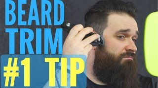 Best beard trimming and shaping tip you NEVER knew about!! | Tutorial