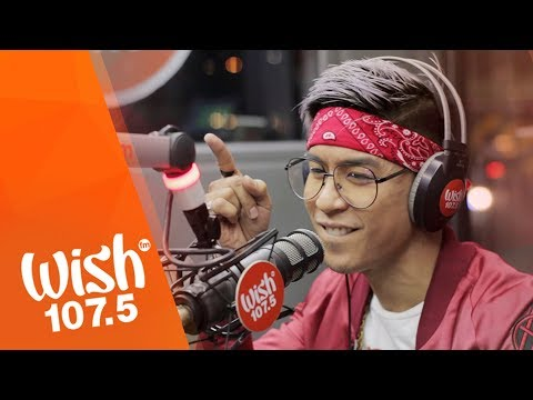 """Kris Lawrence sings """"Isang Saglit"""" LIVE on Wish 107.5 Bus"""