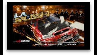 L.A. Rush Gameplay (PSP)