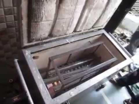 Meltwell Gas Oven Inside