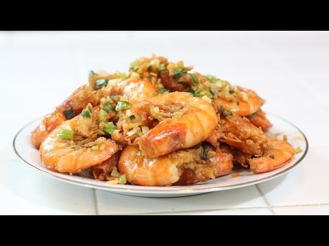 How To Make Salt And Pepper Shrimp!- MichelleCookingShow
