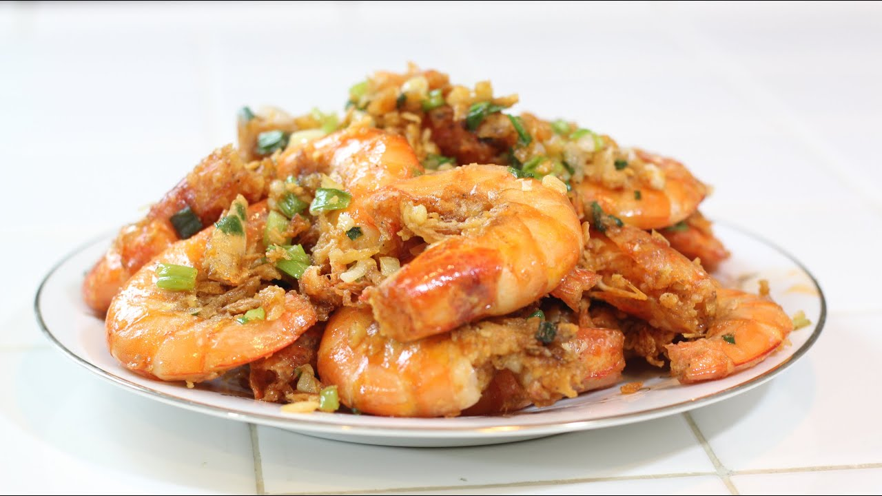 How To Make Salt and Pepper Shrimp!- MichelleCookingShow - YouTube