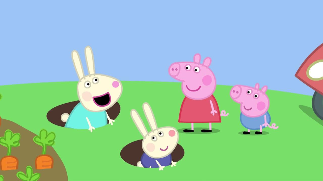Peppa Pig La Maison De Rebecca Rabbi S02e39 Youtube
