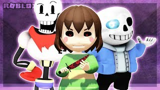 UNDERTALE IN 3D AND MULTIPLAYER! Roblox Undertale