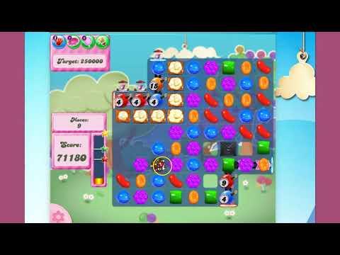 Candy Crush Saga Level 2820  -  no boosters
