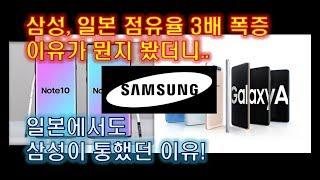 삼성, 일본 시장 점유율 3배 폭증한 이유를 봤더니..