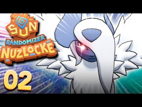 MEGA POKÉMON ALREADY!? (POKEMON SUN RANDOMIZER NUZLOCKE #02)