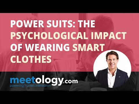 Power Suits: The Psychological Impact of Wearing Smart Clothes