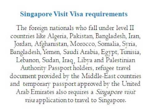 How to get Singapore visit visa? | Morevisas