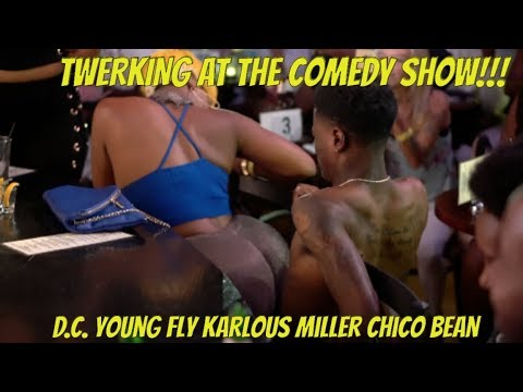 Twerking At The Comedy Show To 60 Percent on The Dollar and Uno Dos Tres