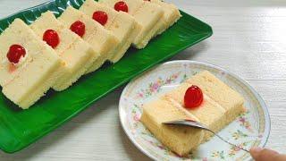 Butter Sand Cake / Kue Pasir Mentega || How to make soft butter sand cake