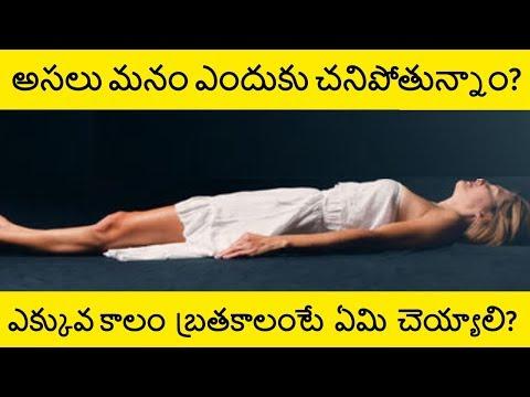 Why do we Die |  How to Live a Long Life in Telugu | Telugu Badi