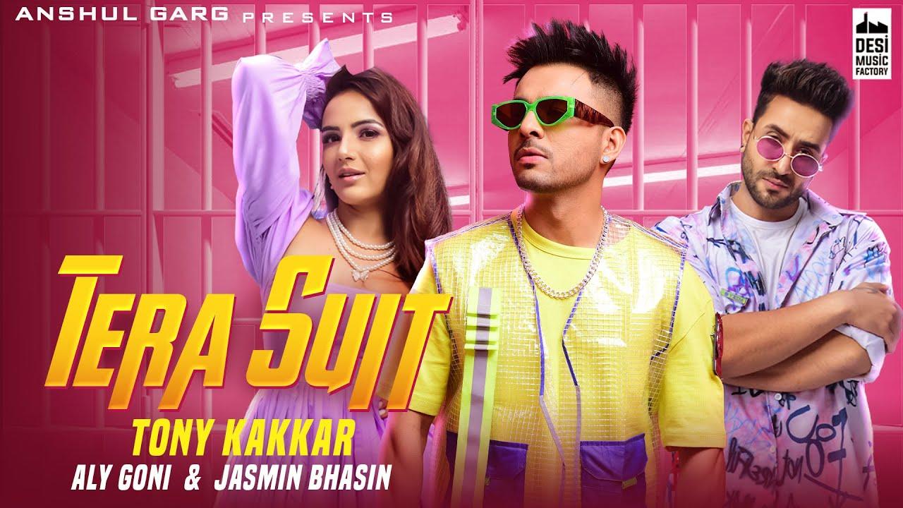 Download Tony Kakkar - Tera Suit | Aly Goni & Jasmin Bhasin | Anshul Garg | Holi Song 2021