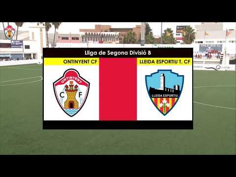 Ontinyent CF - Lleida Esportiu (Jornada 7 - 2017/2018)