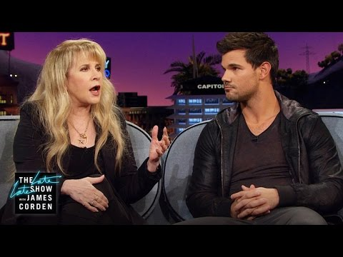 Taylor Lautner & 'Twilight' Inspired Stevie Nicks