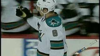 Joe Pavelski (SJS) vs. Martin Biron (PHI) Shootout October 22, 2008