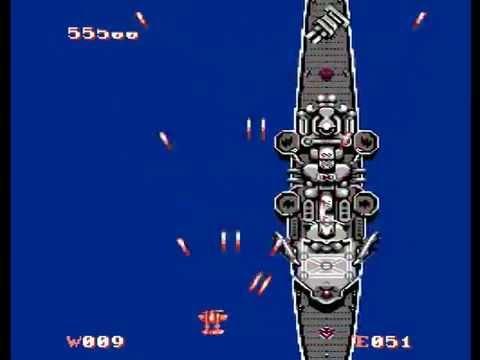 1943 NES Video Game - Gameplay Footage