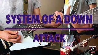 System Of A Down - Attack (guitar cover)